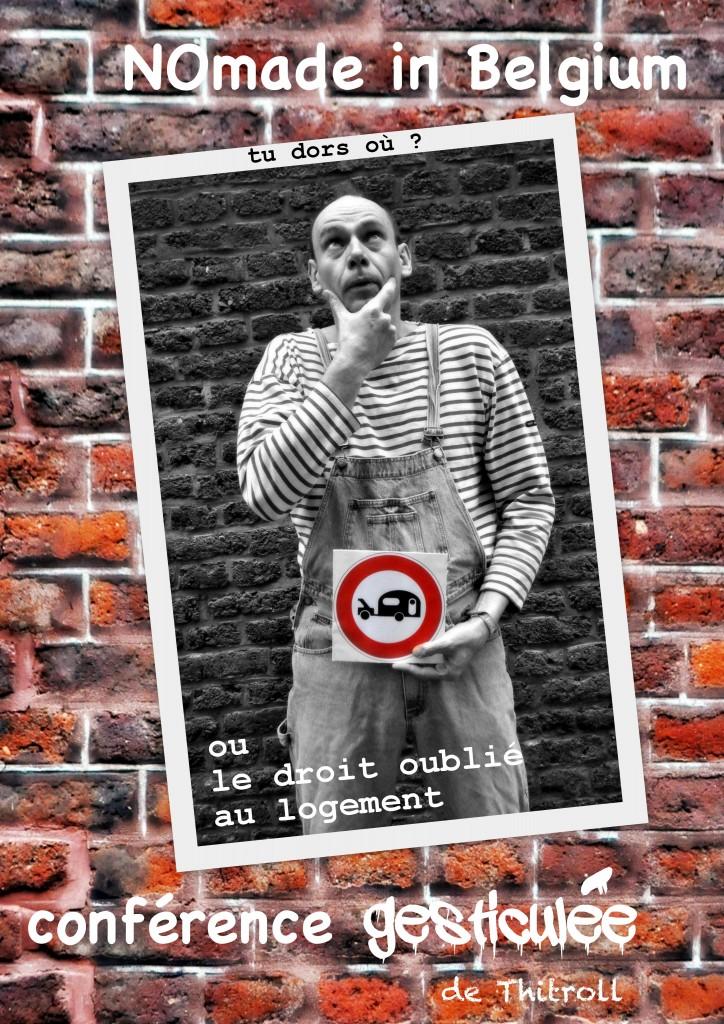 Affiche Nomade in Belgium